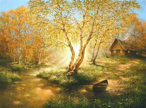 imagenes de paisajes antiguos im 225 genes arte pinturas cuadros de paisajes con casas