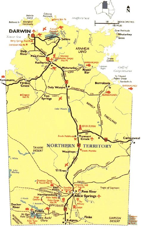 map northern australia image gallery northern territory map