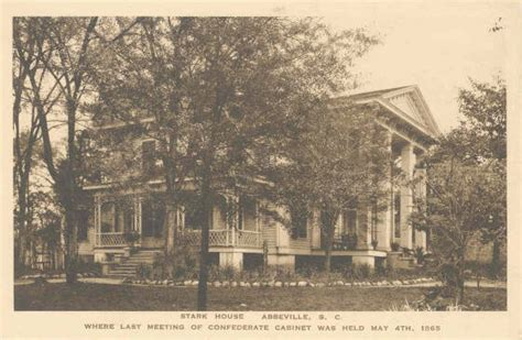 Abbeville County Sc Records File Stark House Abbeville Abbeville County South Carolina Jpg
