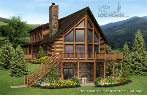 log homes and log home floor plans cabins by golden eagle
