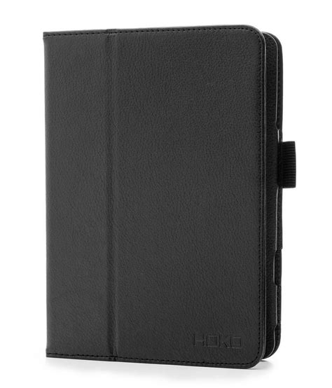 Kalaideng Mini 12 Black Flipcover Book Cover Black hoko leather flip book cover stand with magnetic closure for apple mini with retina