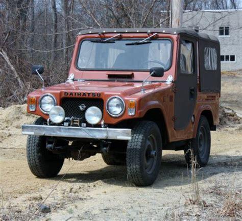 jeep daihatsu purchase used 1976 f10 taft daihatsu beach truck or jeep