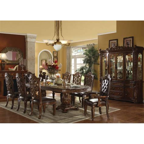 9pc dining room set 9pc dining room set acme winfred 9pc counter height