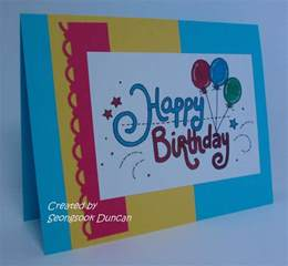 birthday card create easy how to make a birthday card create your own birthday card make cards