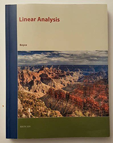 Elementary Differential Equations And Boundary Value Problems 10th Ed linear analysis elementary differential equations and boundary value problems 10th edition