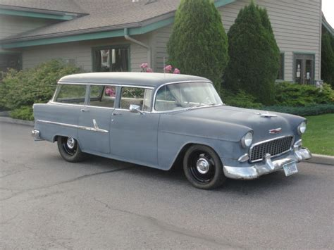 1955 Chevrolet Wagon 1955 Chevy Wagon Power Steering Disc Brakes 350 350