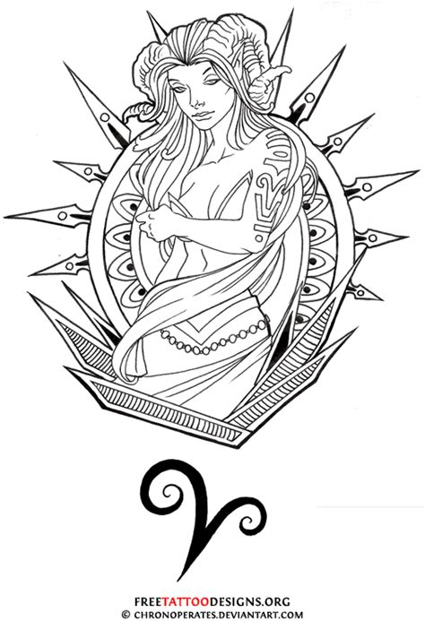 aries tattoo designs free 35 aries tattoos ram designs