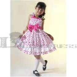 Dress dots bow cotton sweet kids lolita dress tzz120428018 163 40 09