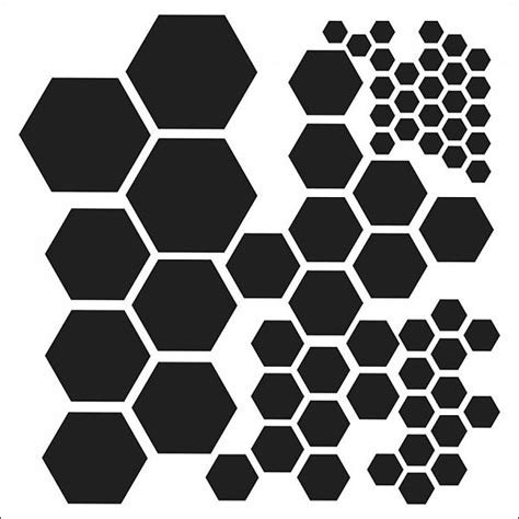 Hexagon Chalkboard Landeelu - image gallery hexagons