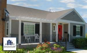 front porch designs for ranch homes 1950 s pop top rancher remodel quotes