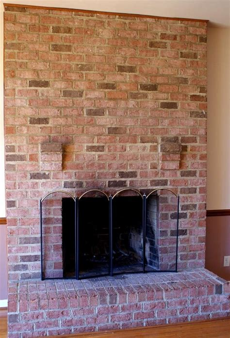 Rustic Brick Fireplace by Rustic Brick Fireplaces Photos