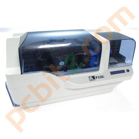 Printer Zebra P330i zebra p330i p330im plastic id usb card printer printers
