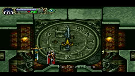 castlevania symphony of the clock room castlevania symphony of the when you enter the master clock room the should