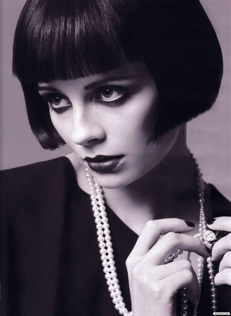 louise brooks haircut dolly rocker girl then and now the louise brooks hairstyle