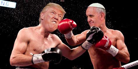 donald trump fires    pope askmen