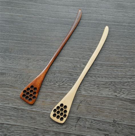 Kitchen Craft Jam Spoon High End Cutlery Vintage Wood Spoon Stirring Rod