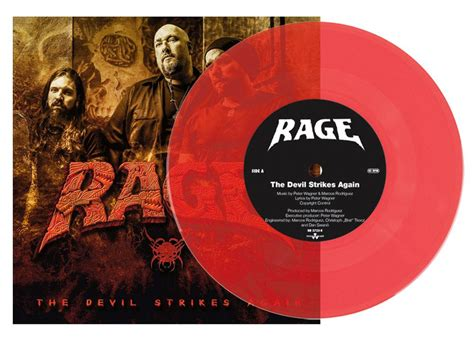 Rage Capital For Free Rage The Strikes Again Second To None Vinyl Nuclear Blast
