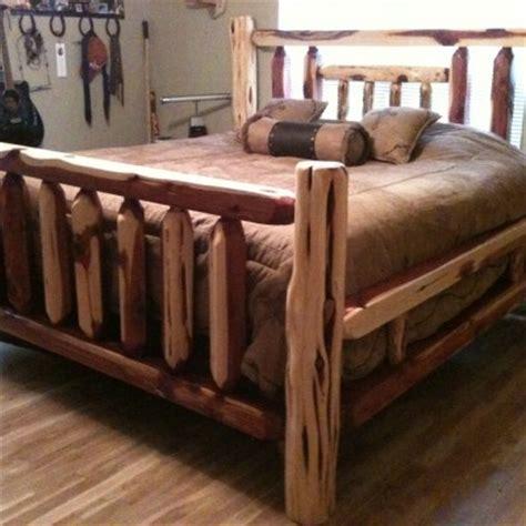 cedar bed frame cut  cedars