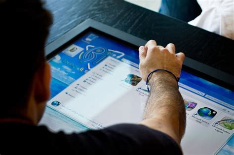 touchscreen desk already exists comes with a 7 000