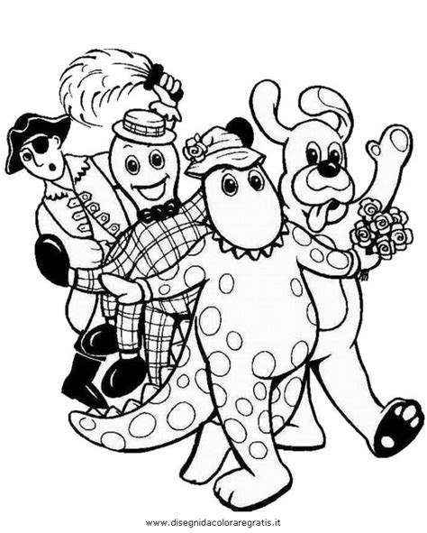 Free Coloring Pages Of Wiggles Wiggles Colouring Pages
