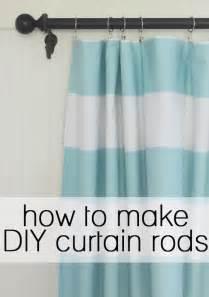 make your own shower curtain rod 17 b 228 sta bilder om curtains p 229 stugor shabby