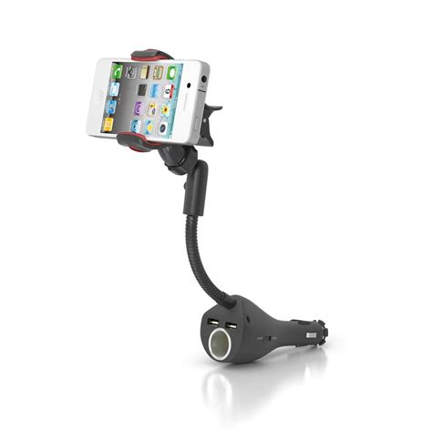 Holder Motor Charger Usb Qs 121 multifunction car phone holder cl car mount for mobile phone car holder with dual usb charger