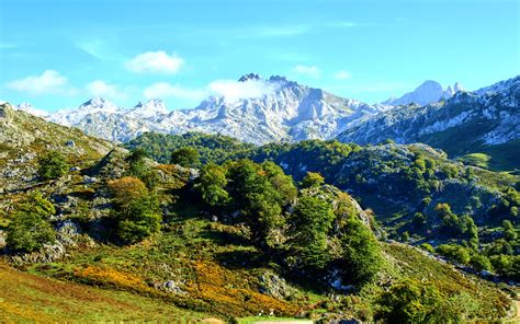 spanish nature of photographs picture spain nature mountains