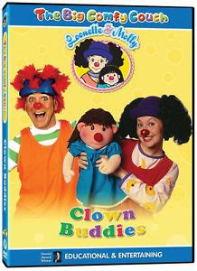 big comfy couch dvd the big comfy couch clown buddies dvd new