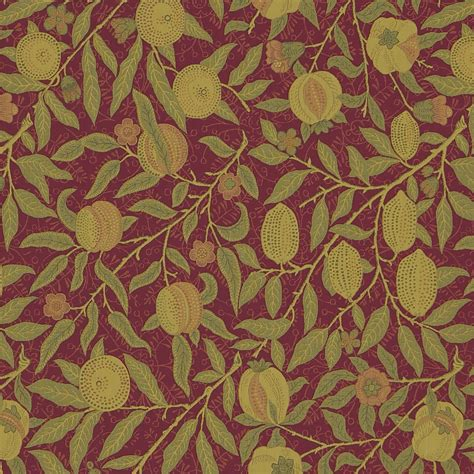 William Morris Upholstery Fabric by The Original Morris Co Arts And Crafts Fabrics And