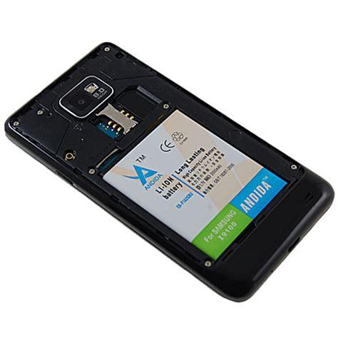 Produk Istimewa Original100 Baterai For Samsung Galaxy S2 I9100 andida extended battery for samsung galaxy s2 2000mah