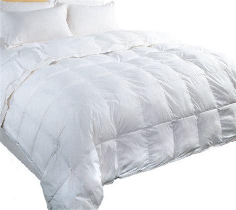 qvc down comforters blue ridge 233tc cotton cambric down full queen comforter
