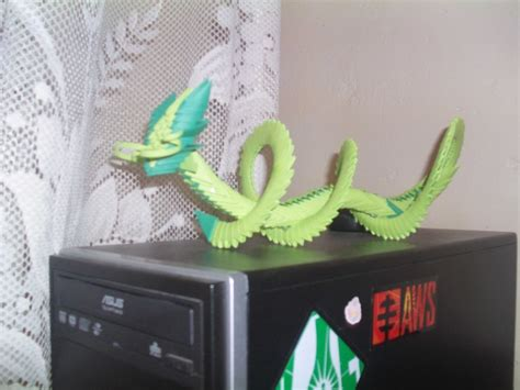 3d origami dragon boat tutorial chinese 3d origami 171 embroidery origami