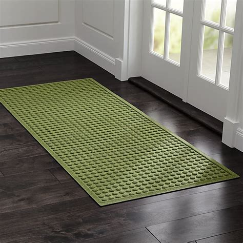 Crate And Barrel Doormats by Green Water Absorbing Doormat Crate And Barrel