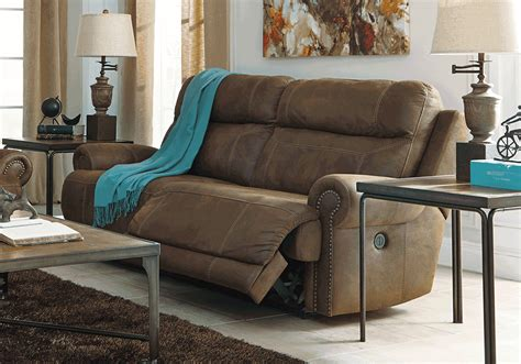 austere power reclining sofa austere brown power reclining sofa overstock