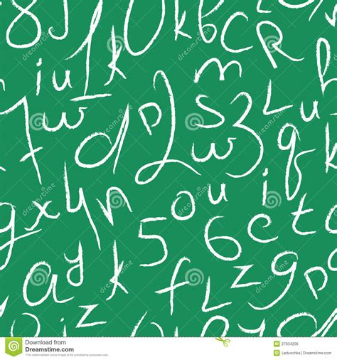 pattern numbers and letters seamless vector pattern with numbers and letters royalty