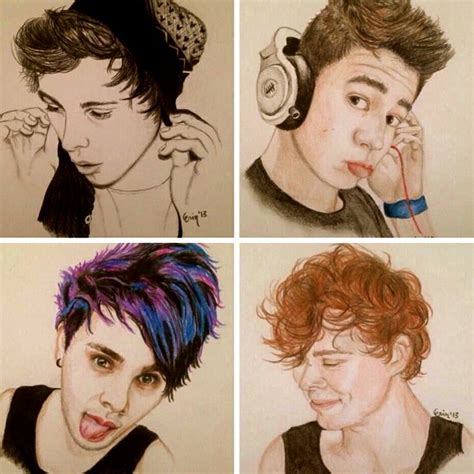 5 Second Sketches by 16 Best Images About 5sos Drawings On 5 Sos