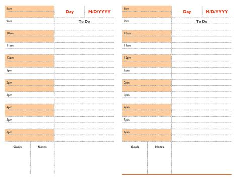 download daily schedule planner templates pdf word download daily schedule planner templates pdf word excel