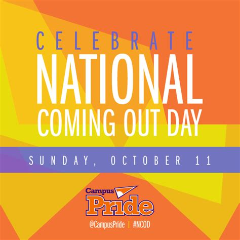 s day coming out celebrate national coming out day on october 11