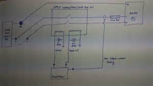 microcontroller using dpst relay to ac load electrical engineering stack exchange