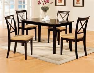 espresso dining room set melbourne i espresso rectangular leg dining room set from