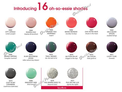 new essie colors 16 new shades essie gel nail colors 2014 lot kit set 12