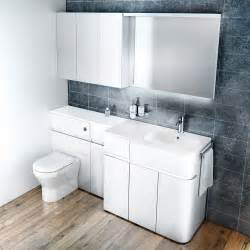 Bathroom Furnitur Aqua Cabinets D450 Fitted Bathroom Furniture Uk Bathroom Solutions