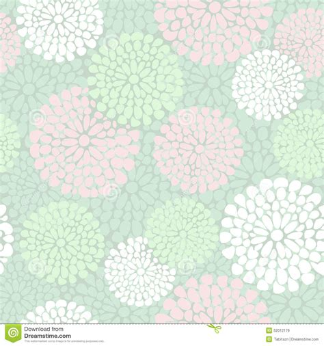 Cherry Blossom Tree Wall Stickers beautiful floral pattern in pink and mint color stock