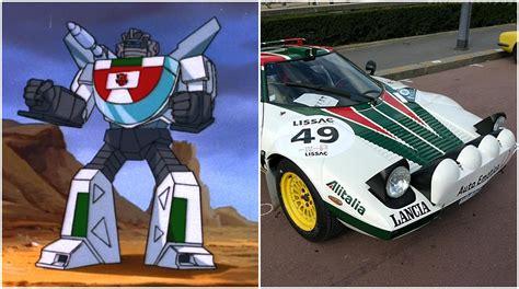 Lancia Stratos Wheeljack The Transformers 10 Autos Que Representaban A Los Autobots