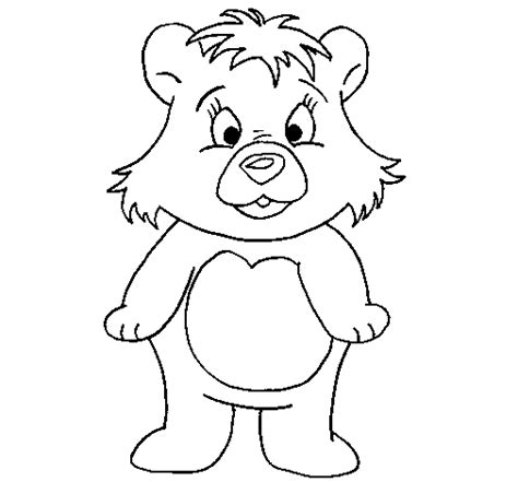 little bear coloring page coloringcrew com