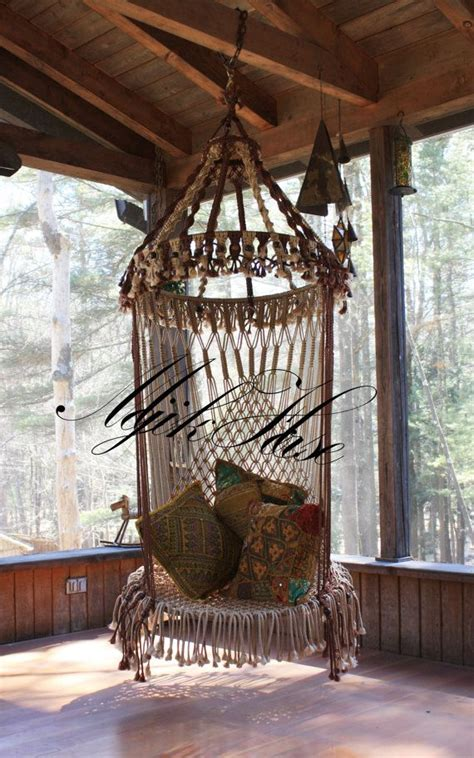 vintage swing chair 17 best images about macrame miscellaneous on pinterest