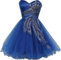 Galerry royal blue lace dress detail bodycon