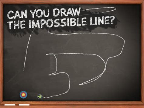 websites where you can draw can you draw the impossible line in chillingo s newest