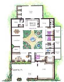 Earth Contact House Plans House Plans With Atrium Garden Homes With Atriums Floor