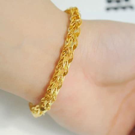 Bangle Hongkong 24k 10 730 Gram جدیدترین مدل های دستبند طلا حیاط خلوت